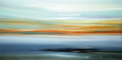 Drifting Away-Ridgers, 60x30 on canvas
