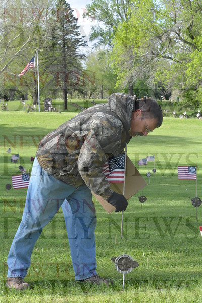 Union Cemetery Cleanup 2016