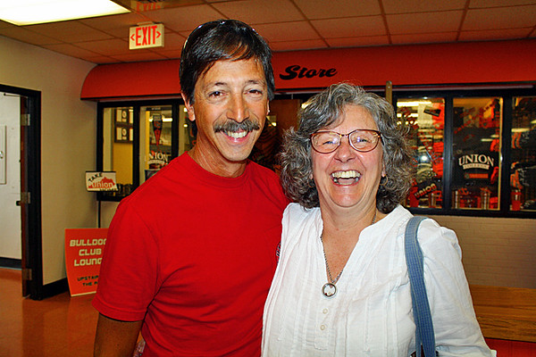 Mike and his wife, Donna