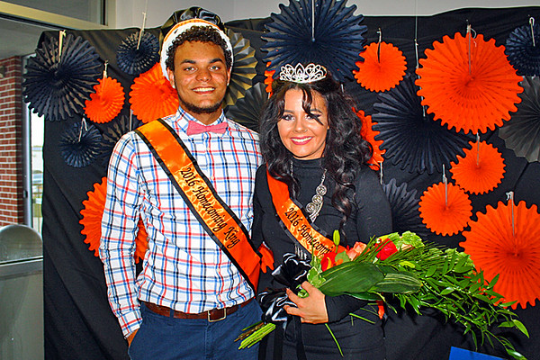 The Homecoming King and Queen