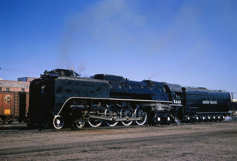 UP 341 - Sep 13 1964 - no 8444 4-8-4 @ Cheyenne WY - by Jim Ozment