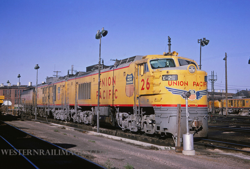 UP 330 - Jul 12 1964 - Turbine 26 @ Cheyenne WY - by Jim Ozment