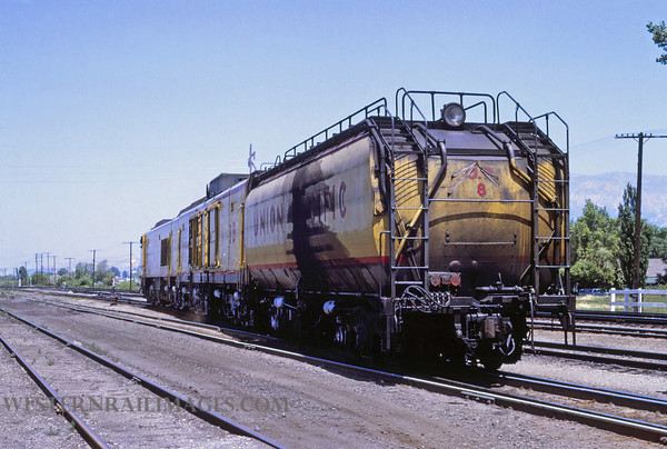 UP 490 - Jun 30 1969 - Turbine 8 west end of Ogden UT - by Jim Ozment