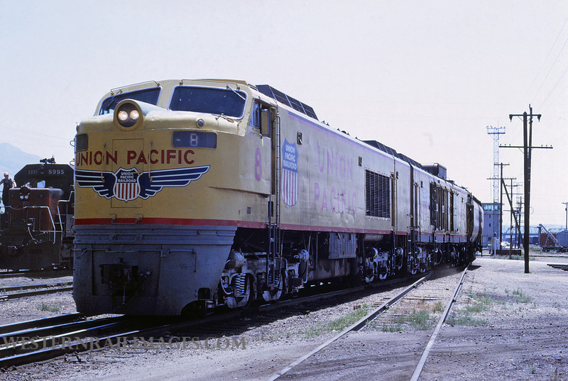 UP 492 - Jun 30 1969 - turbine locomotive no 8 @ Ogden Utah by Jim Ozment