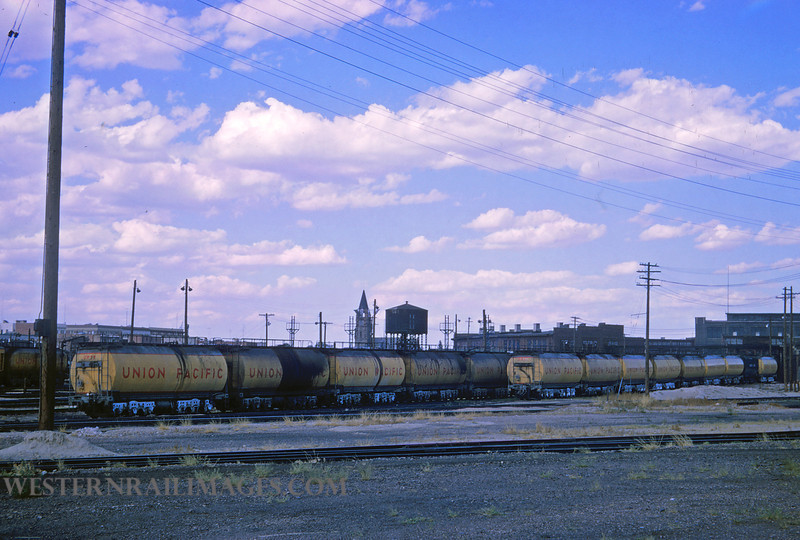 UP 356 - Aug 13 1965 - turbine tendors @ Cheyenne WY - by Jim Ozment