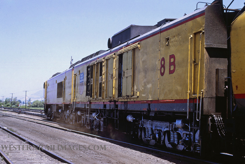 UP 491 - Jun 30 1969 - Turbine no 8 west end of @ Ogden UT - by Jim Ozment