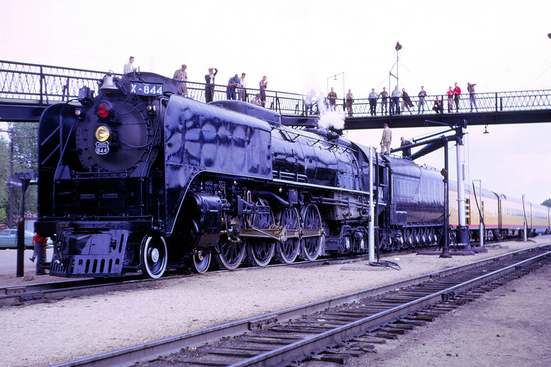 UPRR 361 - June 11 1961 - No  844 - Laramie WYO