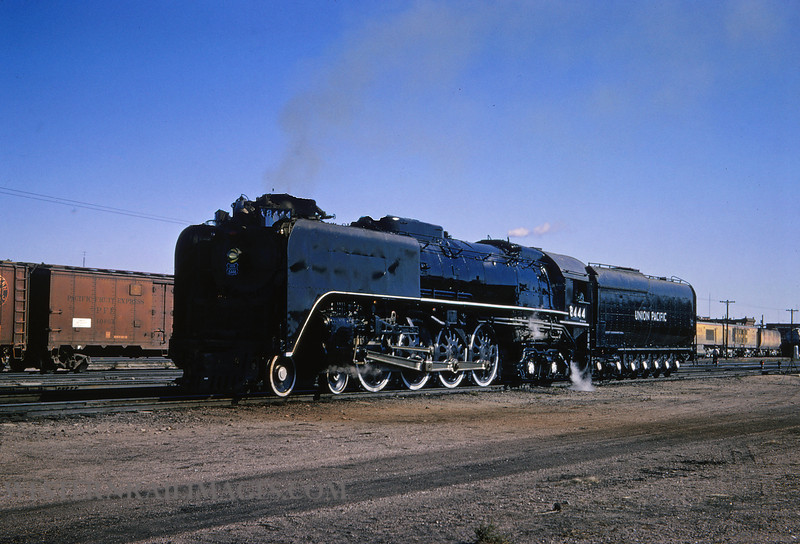 UP 340 - Sep 13 1964 - no 8444 4-8-4 @ Cheyenne WY - by Jim Ozment
