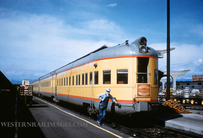 UP 360 - City of Denver Streamliner