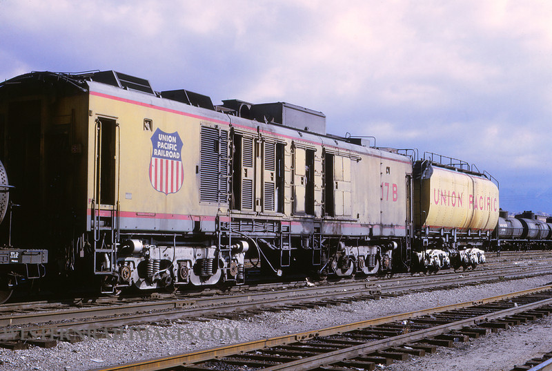UP 504 - Nov 1 1969 - turbine 17B & Tender @ Salt Lake City UT by Jim Ozment