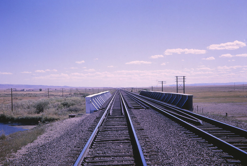 UPRR 351 - Sep 13 1964 - Right of way West of Laramie WYO