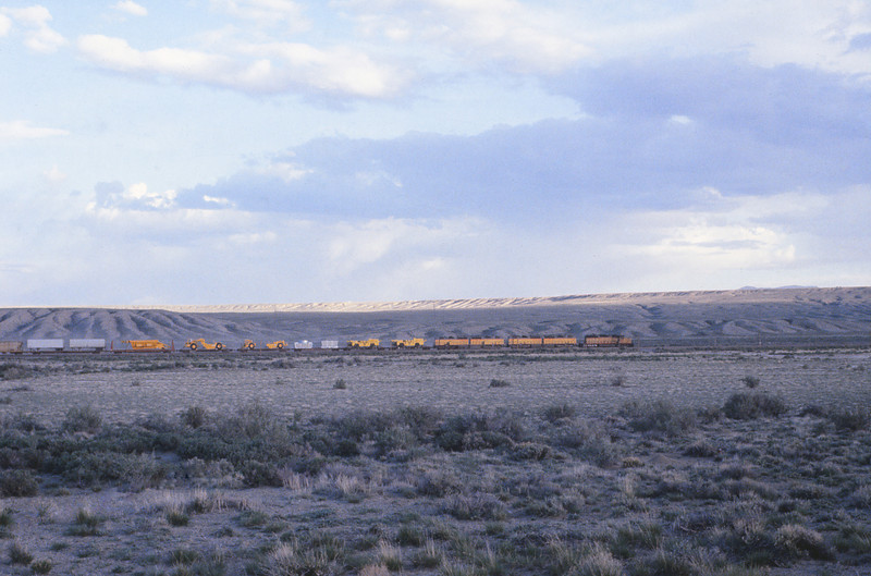 UPRR - May 22 1979 - west of Rawlins WYO