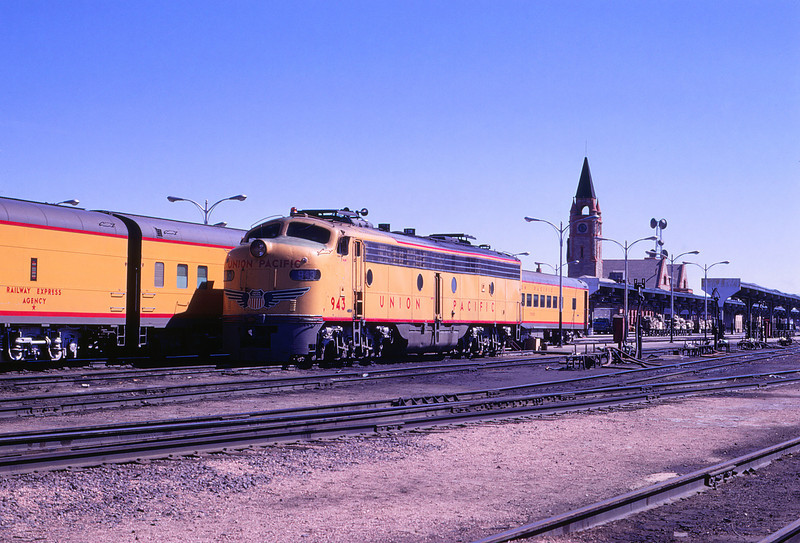 UPRR 519 - May 3 1970 - City of Denver @ Cheyenne WYO