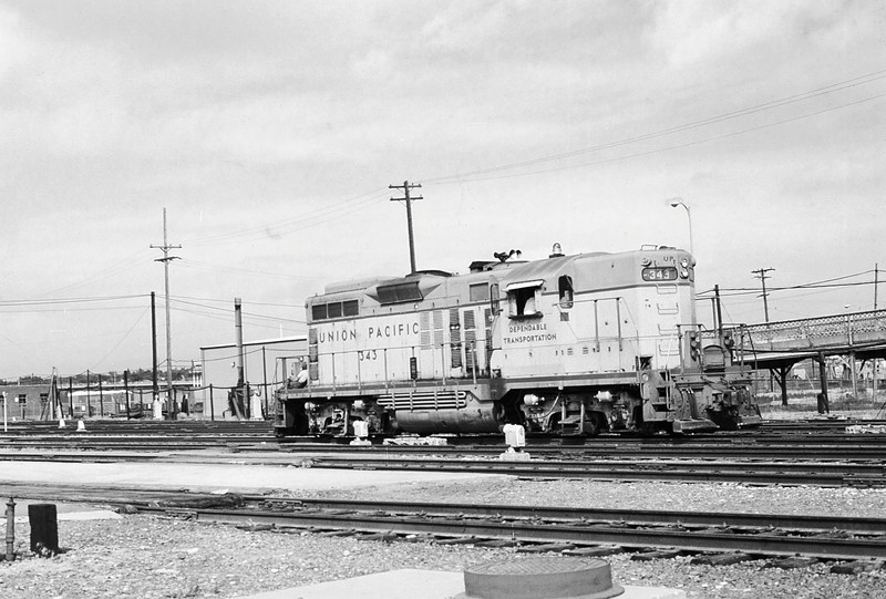 UPRR C101 - June 22 1974 - GP 343 @ Denver COLO