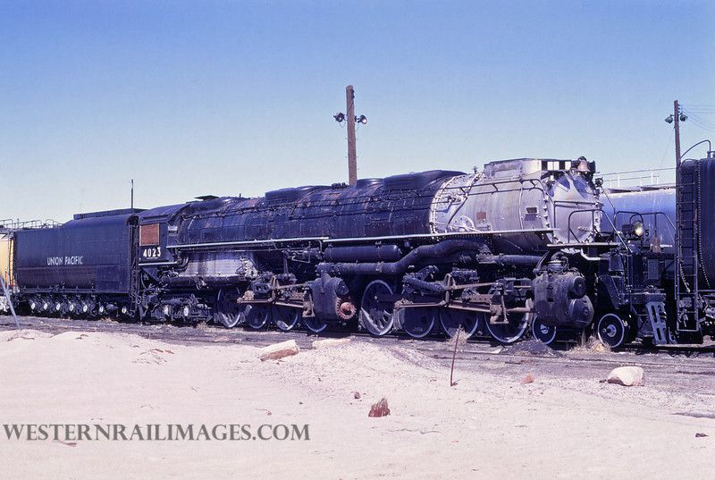 UP 514 - May 3 1970 - no 4023 4-8-8-4 @ Cheyenne WY - by Jim Ozment