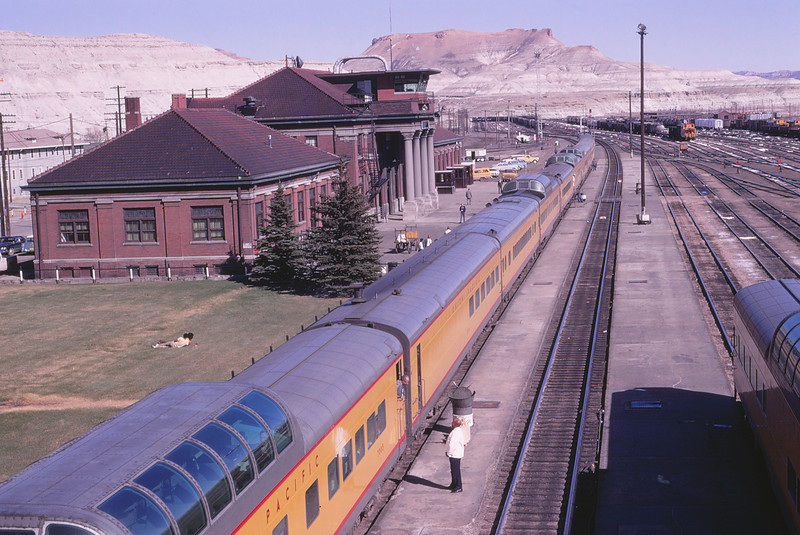 UPRR 528 - May 3 1970 - Green River WYO