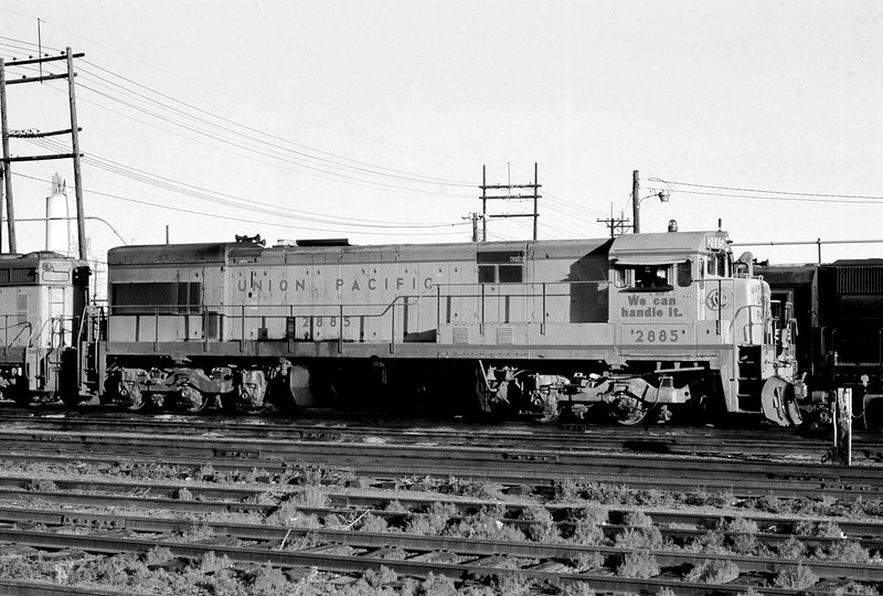 UPRR - July 17 1976 - GE 2885 Denver COLO