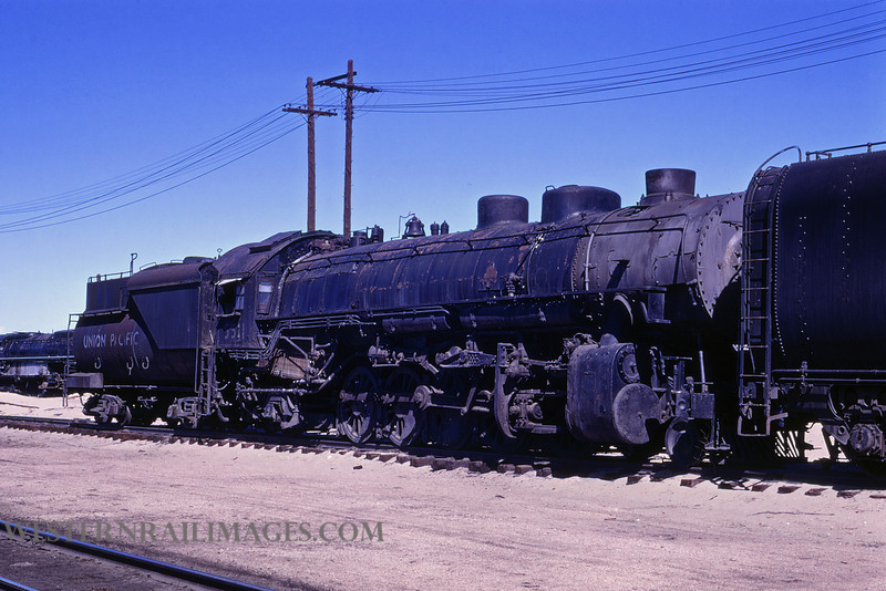UP 513 - May 3 1970 - no 5511 2-10-2 @ Cheyenne WY - by Jim Ozment