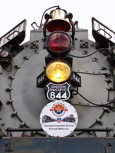 UP Steam #844 visits Arizona as part of the state's Centennial celebrations (2011)