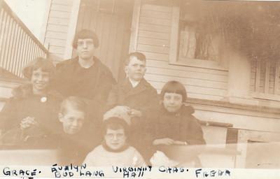 Grace Lang, Evelyn H, Buddy L, Virginia, Chas, Freda-1