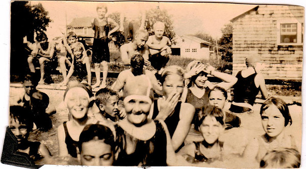 Chief Hopkins was known to invite the neighborhood kids to swim in his built in pool.
