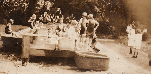Watering Trough - Hopkins Pool