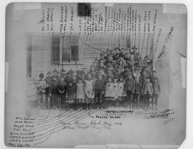 1989 Connecticut Farms School class photo. Amazingly someone wrote each student's name on the photo. Many times with photos this old we don't know who any of them are.