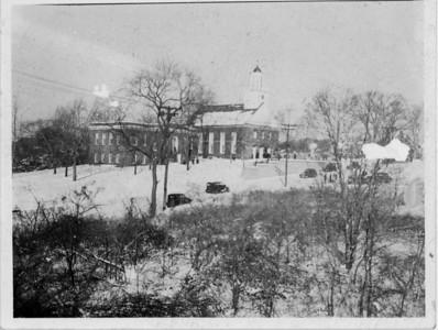 Connecticut Farms church in the 30's