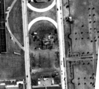 1961 Aerial view of Loft's Candy Garden that was located on the middle island of Route 22 where Wendy's is currently located. Here is the history of Lofts: http://www.brandnamecooking.com/loftcandy.html