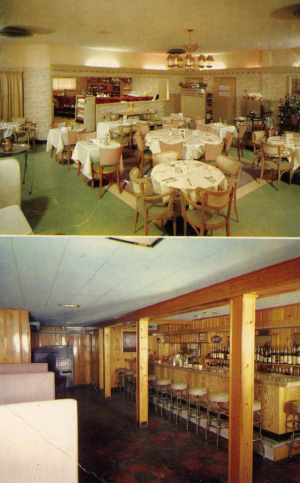 The Kingston Restaurant 1959.