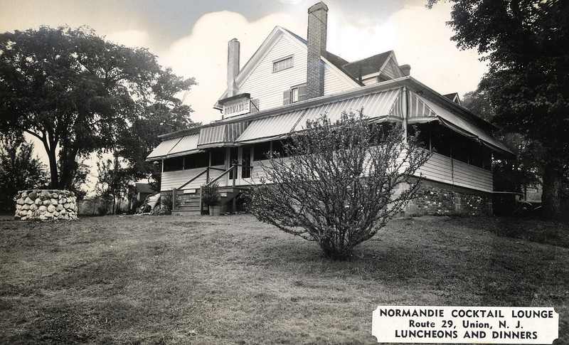 "The Normandie Cocktail Lounge was located on Route 29 (now Route 22 west bound) at Fairway Drive N. with it's back on West Chestnut st. The building was torn down to make way for the Mini U storage facility. Click ""Map This"" to map the location."