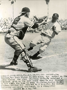 Union resident Joe Collins played for the Yankees for ten years from 1948 and was in seven world series. Wikipedia link: http://en.wikipedia.org/wiki/Joe_Collins