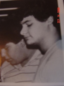 Artie Lange Jr. In a candid photo from the 1985 UHS yearbook.