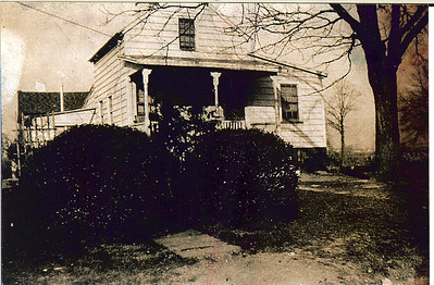 Taken about 1915, this photo shows the Wade house that Hanna Caldwell's body was taken after she was murdered by a British soldier in 1780. Long time Union resident Al Koenig recalls living there as a child. The house was located at 890 Caldwell Avenue across the street and 4 houses south of the Caldwell Parsonage. This photo is a very important and exciting discovery.