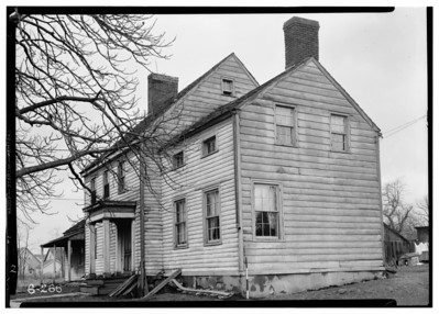 This 1938 photo shows a house currently located at 1835 Vauxhall Road that is referred to as the Brandt -Headley Farm House in a 1938 study done by the Work Projects Administration (WPA) in order to document historic structures in the area. The house was built about 1780. The subsequent image is of  architectural plans of the first floor.