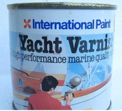 International paint yacht varnish 70s