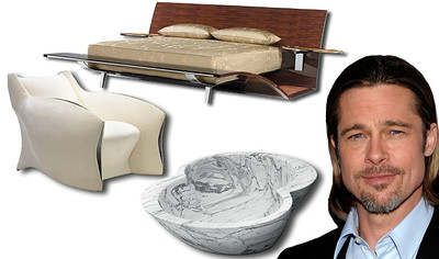 What does Brad Pitt have to do with Union you wonder?  After flying to France to install a desk made for Angelina Jolie, Frank Pollaro discovered that Brad Pitt was a talented furniture designer. The two eventually became partners in a new venture called Pitt Pollaro. Mr. Pitt has graced Union with his presence many times over the years that the Pollaro shop was in Union.
