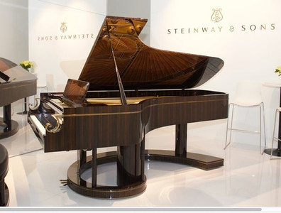 Frank Pollaro was selected to build the 600,000th piano for Steinway in their Lousons Rd shop in Union right next to Union High School. This piano was priced at 2.4 million dollars. They call it The Fibonaci.