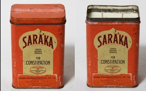 Union pharma Saraka cans