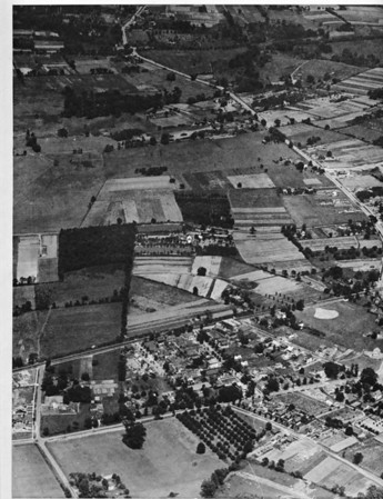 Union center aerial west 1923 red