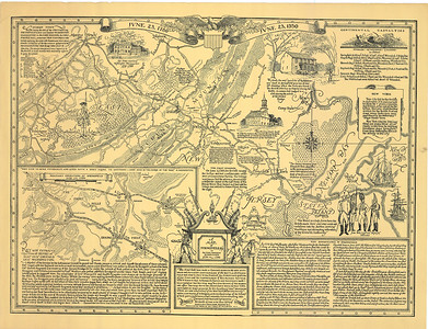 Springfield 1780 battle map