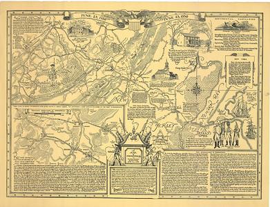 Springfield 1780 battle map