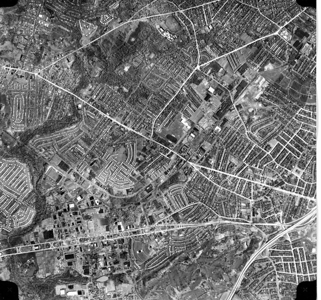 1961 aerial of a part of Union.