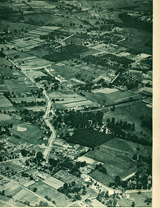 Very nice 1923 Aerial of Union Center and surrounding area looking North. The main road oriented vertically is Stuyvesant Ave. which at that time was more of a major route than Morris Ave.  This high res image is downloadable for viewing in closer detail.