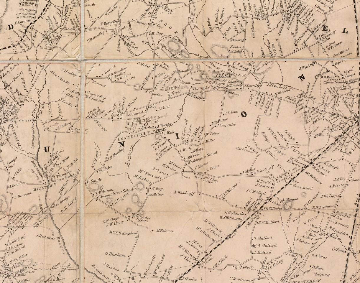 Union 1850 map union crop