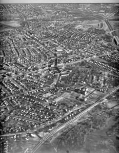 Union center aerial  1955 55