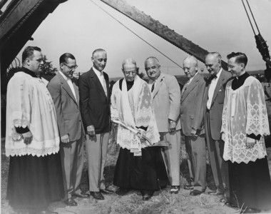 1953 groundbreaking of St. Michaels?