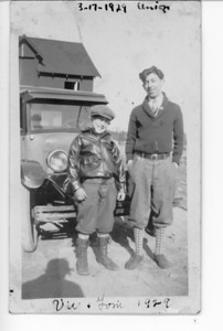 """""""Vic and Tom"""" on 3-17-29. We don't know who or where they are and we do not know if they have been drinking for St. Patrick's Day."""