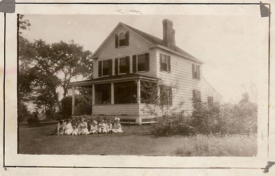 Shusters in front of  the family farm house on West Chestnut St. near the end of Caldwell ave.