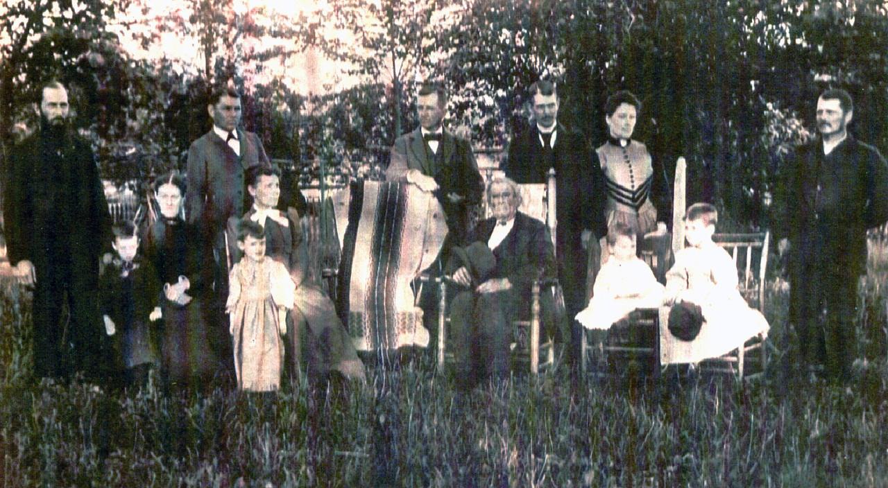 Headley family taken about 1890.